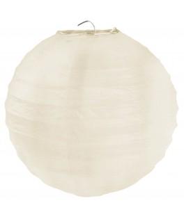 Lanternes en papier Ivoire XL 50 cm