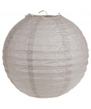 Lanterne papier Taupe XL 50 cm
