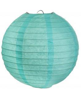 Lanterne papier Menthe XL 50 cm