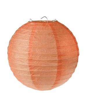 Lanternes en papier Corail