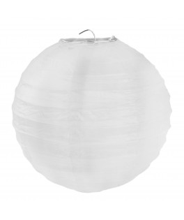 Lanternes en papier Blanc L 30 cm