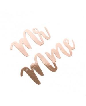Suspension Mr & Mme rose gold