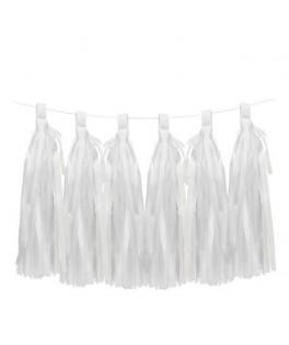 tassels blanc