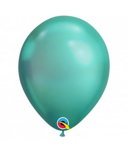 Ballons chromés menthe