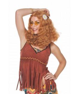 Perruque Hippie Rousse