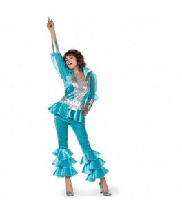 Deguisement Disco Mamma Mia Bleu