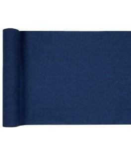 Chemin de table coton jean bleu