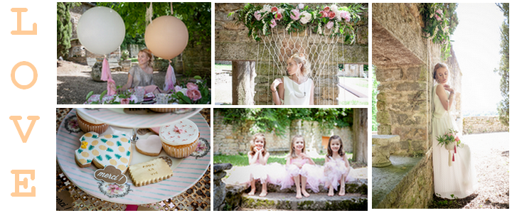 Shooting d'Inspiration Mariage «Girls just want to have Fun»